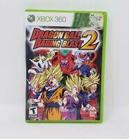 Dragon Ball: Raging Blast 2 (Microsoft Xbox 360, 2010) Complete With Manual