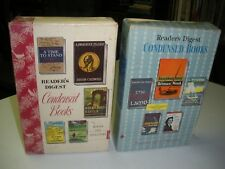 Reader's Digest Condensed Books Summer &Winter of 1962 2 books in Boxes First Ed
