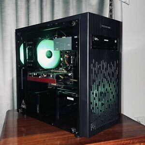 i5 Deepcool Tempered Glass Gaming PC Computer 240GB SSD 16GB RAM Radeon HD 7850