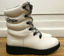 New Cougar Original Winter Waterproof Pillow White Boots For Women