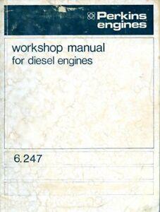 Perkins 6.247 diesel engine workshop service manual