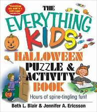 Halloween Puzzles/Activity kids book Age 7+ match/crossword/search Everything