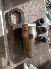 """Clarkson Collet arbor NT50 wt 3 collets ID 3/4"""" , 1"""" & 1 1/4"""" wt wrench"""