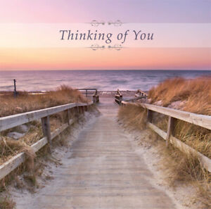 Thinking of You Card  Any Occasion Religious Christian  28XA