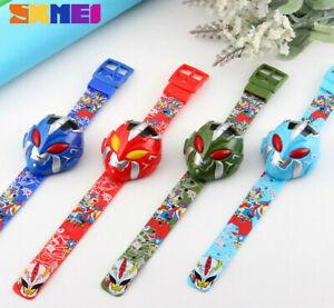 Power Rangers Kids Children Boys Girls Toy Watch Digital Wrist Watches Free P&P