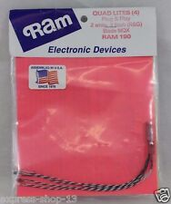 Ram Electronic Devices HELIMAX 1SQ Quad Lites LED - RAM 190 for Helicopter - NEW