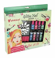 Pinkleaf Glitter Powder Nail Art Gift Kids 3+ - Non-Toxic- Kids Friendly