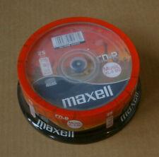 25 MAXELL CD-R Audio Rohlinge 80 min.