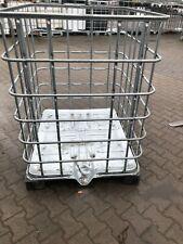 Stahlbehälter Gitterboxen Metall Behälter  Schäferbehälter Kranbehälter