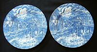 Vintage Collectable Plates - The Post House - Alfred Meakin Staffordshire