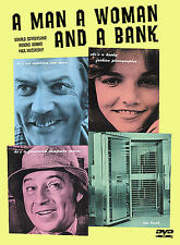 NEW A Man a Woman and a Bank 1979 Comedy Crime Caper Story Action Rare OOP DVD