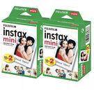Fujifilm INSTAX mini SOFORTBILD FILM für 40 Bilder 4 X 10 Pack OVP  MDH:06-2023 <br/> Filme sind 100% OVP 4 x 10 Magazin Ersatzbilder Neu