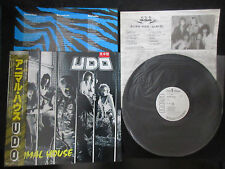 U.D.O. Animal House Japan Promo White Label Vinyl LP w OBI 1988 Accept UDO Metal