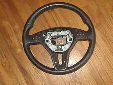 OEM Mercedes C & E CLASS BROWN LEATHER STEERING WHEEL 21846000188P18, 2184600018
