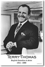 Terry-Thomas - English Comedian & Actor - NEW Famous Person POSTER