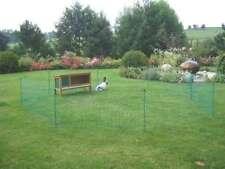 Kaninchennetz 12 m Freigehege Hasennetz Nager Hasen Zaun Kaninchen Freilauf