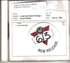 (BH442) Comic Relief, Love Can Build A Bridge - DJ CD