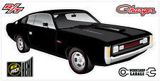 New! Collectable Chrysler VH Valiant Charger R/T - BLACK