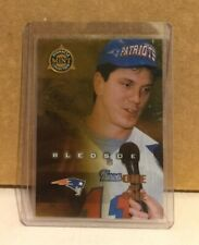 Drew Bledsoe 1998 Pinnacle Mint Collection Gold One of One Masterpiece #70 1/1