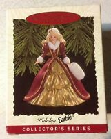 Hallmark Keepsake Ornament 1996 Holiday Barbie Doll Christmas Ornament Series #4