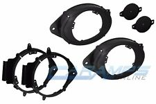 """GM TRUCK SUV FRONT & REAR SPEAKER MOUNTING ADAPTER BRACKETS FOR 6.5""""-6.75"""""""