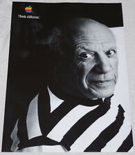 "APPLE Think different PABLO PICASSO poster approx. 28""/20"" mint rolled shipping"