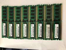 Micron 2GB (8x 256Mb) DDR2 400 CL3 ECC REG PC2-3200R-333-12-A0 Dell Perc4 HP IBM
