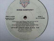 Bobbi Humphrey - Let´s get Started