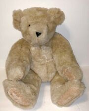 Vermont Teddy Bear Company Plush Fully Jointed Stuffed Teddy