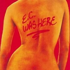 """ERIC CLAPTON """" E.C. WAS HERE"""" CD NEW!"""