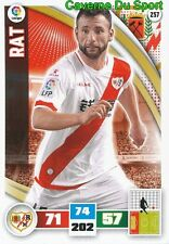 257 RAZVAN RAT ROMANIA RAYO VALLECANO WEST HAM CARD ADRENALYN LIGA 2016 PANINI