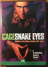 Snake Eyes starring Nicholas Cage (Dvd, 1998, Widescreen)