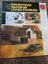 Art Of Painting Barns Farms Grumbacher Library Step by Instructions How to