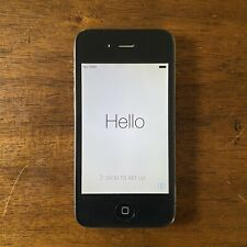 Apple iPhone 4s 16GB Black (AT&T) FACTORY RESET