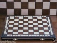 Brand New Hand Crafted  Wooden Chess  Board 36cm x 36cm