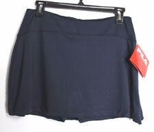 NEW FILA Womens Tennis Navy Blue Skort With Zipper on Leg  Size Small MSR $50
