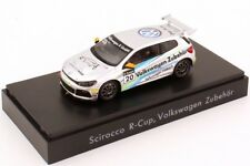 RARE VW SCIROCCO R 2.0T 2012 R-CUP ZUBEHOR ACCESSORIES 1:43 SPARK (DEALER MODEL)