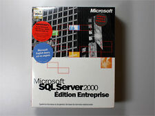 SQL-Server 2000 Enterprise mit Einprozessor-Lizenz Vollversion- neu