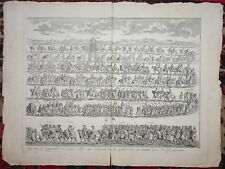 BERNARD PICART Engraving Removed From Ceremonies Et Coutumes Religieuses C1735 k