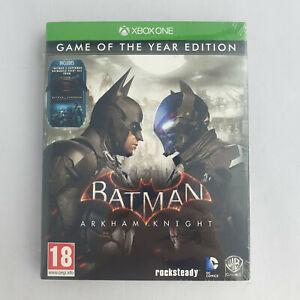 Xbox One - Batman Arkham Knight Game of the Year Edition NEW SEALED GOTY