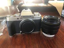 FUJIFILM X-T200 24.2 MP Mirrorless Camera W/XC15-45mm Lens Kit *Champagne Gold*