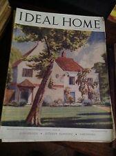IDEAL HOME GIUGNO 1947 RIVISTA ORIGINALE VINTAGE ARREDAMENTO HOME GARDENING