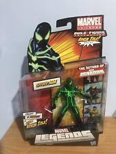 """Big Time Spider-Man Marvel Legends 6"""" Action Figure Green and Black Zola BAF"""