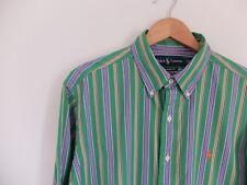Ralph Lauren Striped green shirt | M | Classic fit |