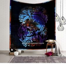 Skull Tapestries Grateful dead psychedelic Tapestry Wall hanging Indian Mandala