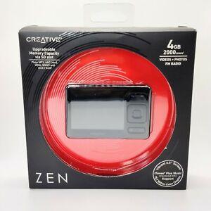 ZEN Creative 4GB MP3 plus media player