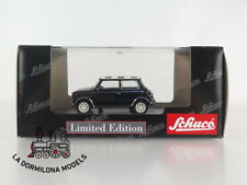 02444 SCHUCO 1:43 - DIECAST MINI COPER BLACK & WITHE - OVP - NEW