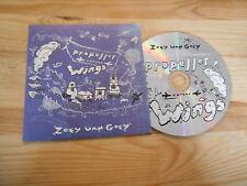 CD Pop Zoey Van Goey - Propller Versus Wings (11 Song) Promo CHEMIKAL UNDERGR cb