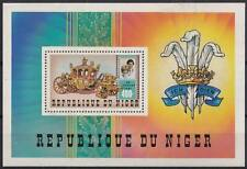 F-EX18805 NIGER MNH 1981 SPECIAL SHEET MARRIGE OF PRINCE CARLOS & LADY DIANA.