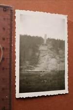 tolles altes Foto Sprungschanze - Eckerlochschanze - Schierke  1950